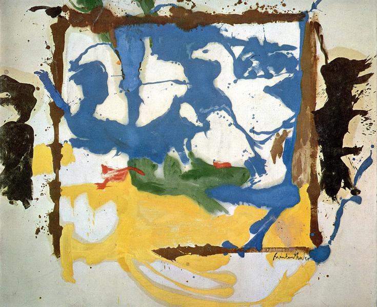 Swan Lake #2, 1961 - Helen Frankenthaler
