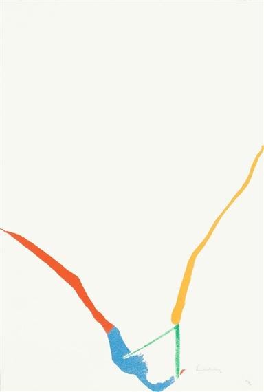 What Red Lines Can Do, 1970 - Helen Frankenthaler