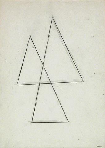 Untitled, 1982 - Helmut Federle