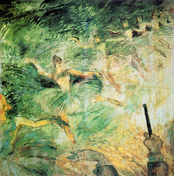 Ballet Dancers, 1885 - Henri de Toulouse-Lautrec