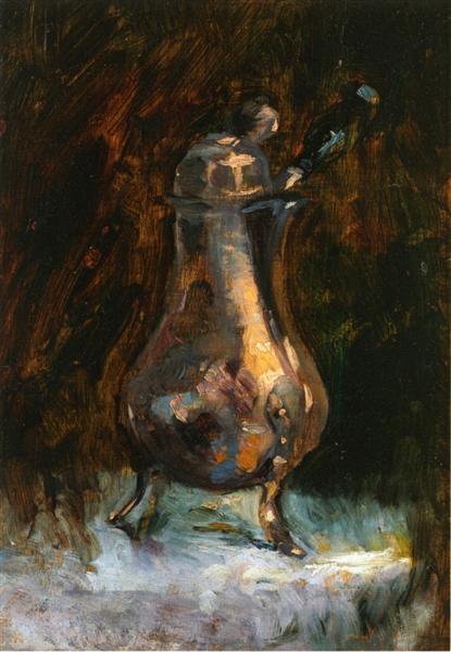 Coffee Pot, c.1884 - Henri de Toulouse-Lautrec