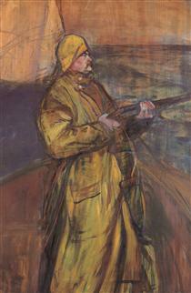 Maurice Joyant Somme bay - Henri de Toulouse-Lautrec