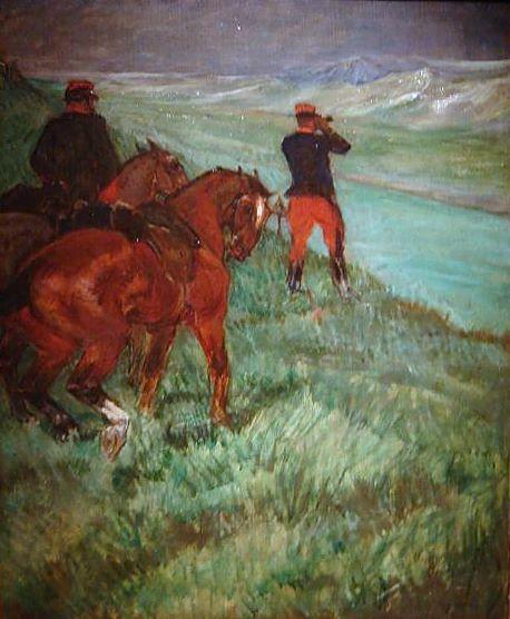 ObservationFabre,ReserveOfficer, 1901 - Henri de Toulouse-Lautrec