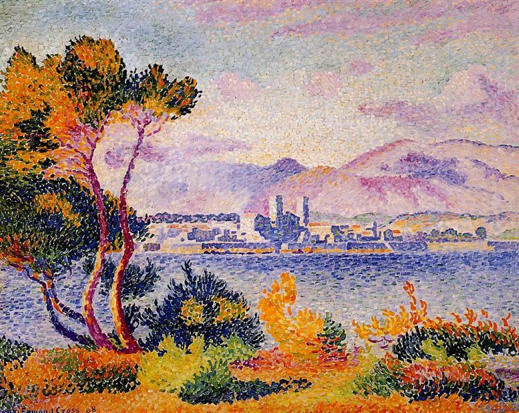 Antibes, Afternoon, 1908 - Henri-Edmond Cross
