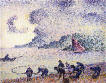 Fisherman - Henri-Edmond Cross