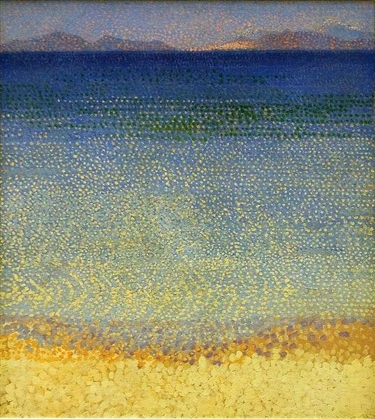 The Iles d'Or (The Iles d'Hyeres, Var), c.1891 - c.1892 - Henri-Edmond Cross