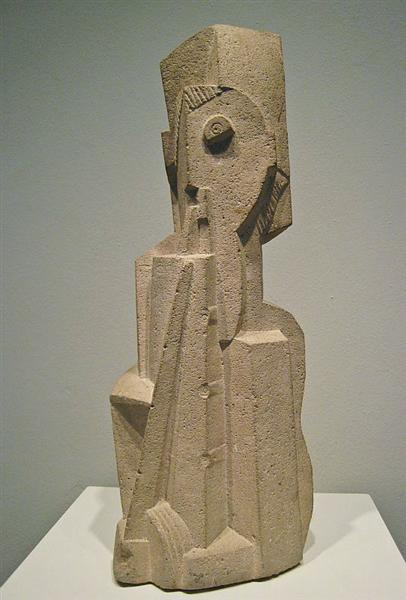 Man with Clarinet, 1919 - Henri Laurens