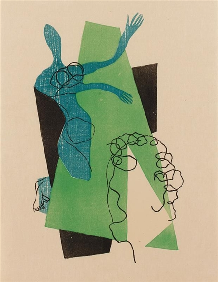 Untitled (from Dialogues) - Henri Laurens