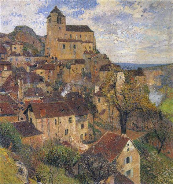 Saint Cirq Lapopie, 1929 - Henri Martin