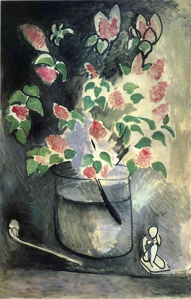 Branch of Lillacs, 1914 - Henri Matisse