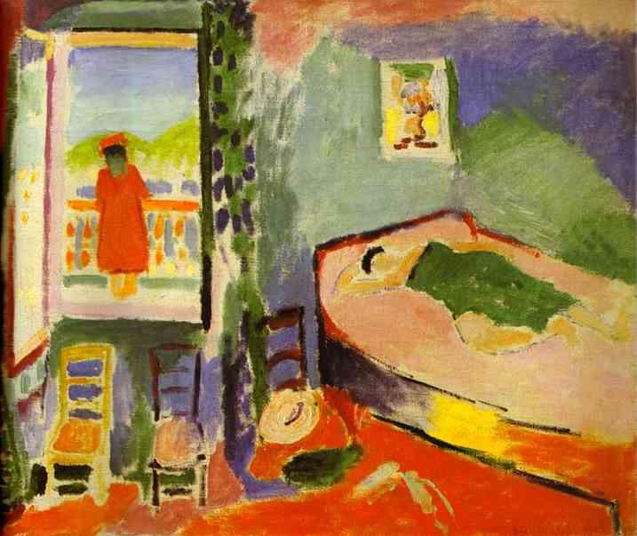 Famous Interior Paintings: Collioure Interior, 1905