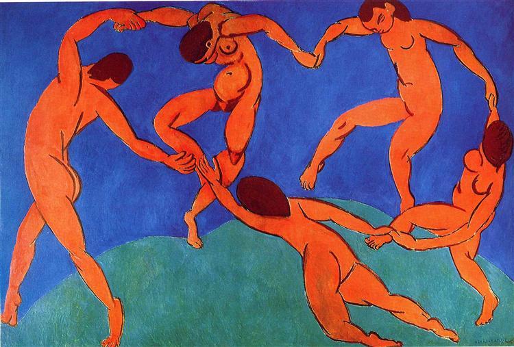 Dance (II), 1910 - Henri Matisse