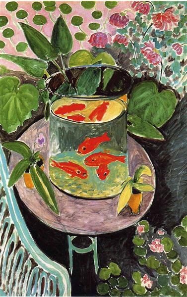 Goldfish, 1911 - Henri Matisse