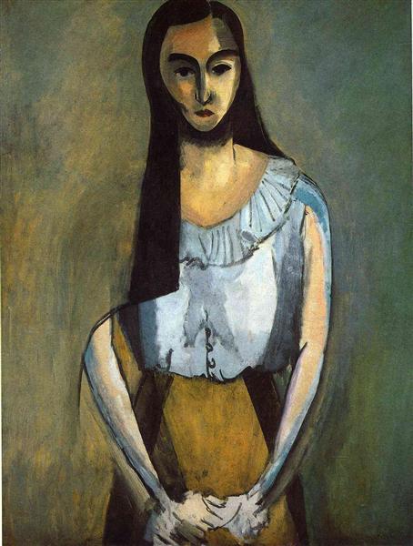 The Italian Woman, 1916 - Henri Matisse