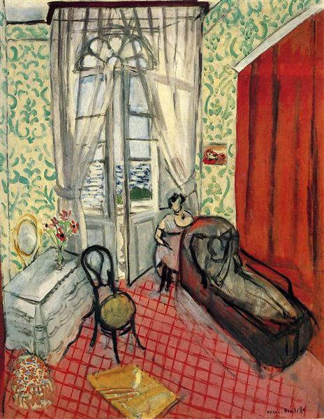 Two Women in an Interior, 1920 - 1921 - Henri Matisse