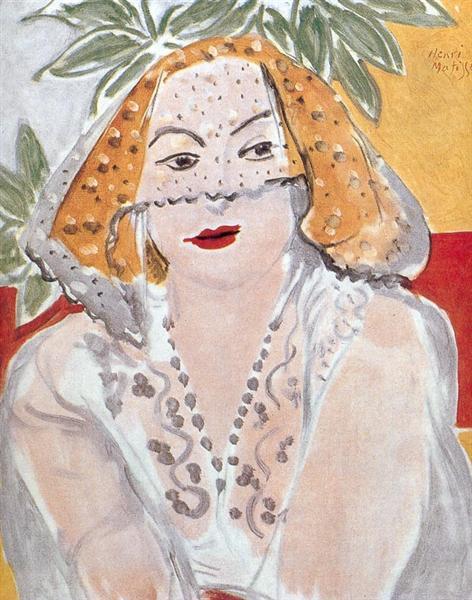 Woman with a Veil, 1942 - Henri Matisse