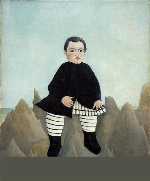 Boy on the Rocks, 1895 - Henri Rousseau