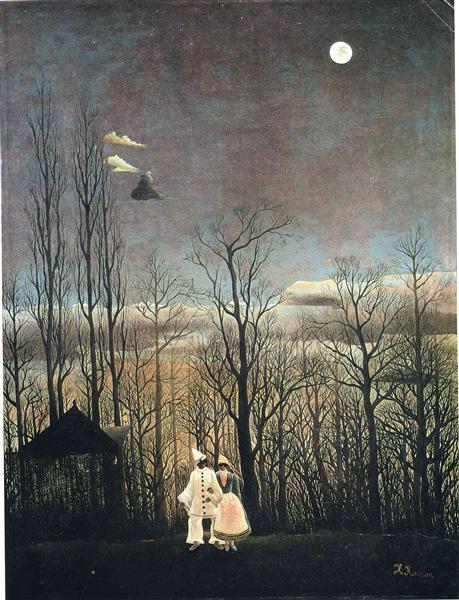 Tarde del carnaval - Henri Rousseau