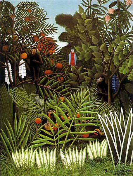 Exotic Landscape, 1908 - Henri Rousseau