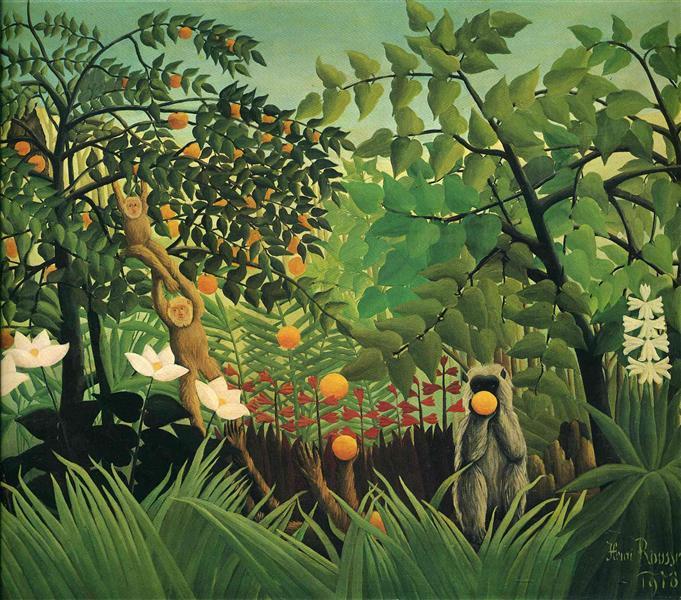 Exotic Landscape, 1910 - Henri Rousseau
