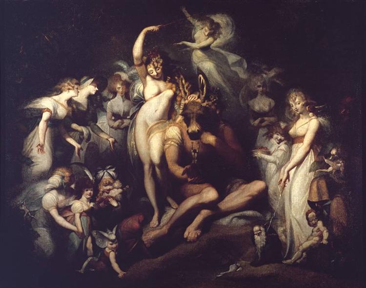 Titania and Bottom, 1790 - Johann Heinrich Füssli