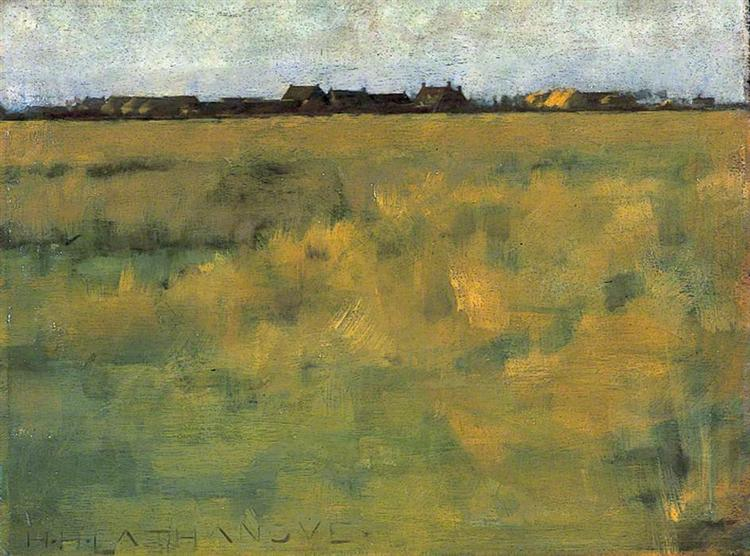 Farm Near Horsey, Norfolk, 1885 - Henry Herbert La Thangue