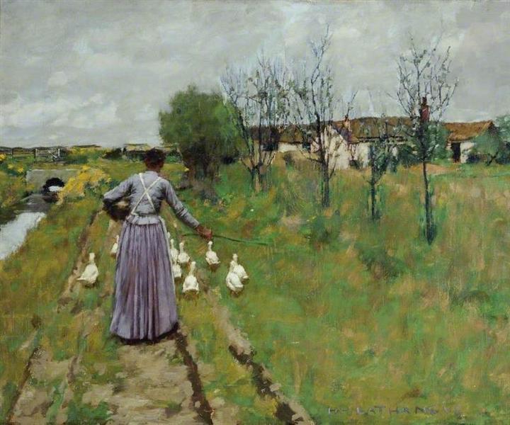 Landscape Study, 1889 - Henry Herbert La Thangue