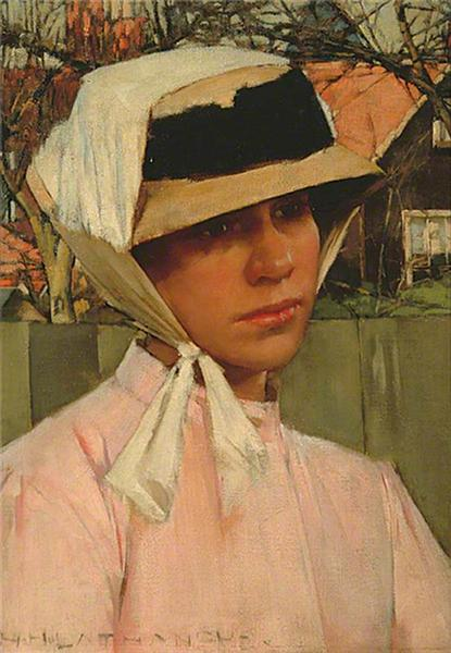 Portrait of a Young Girl, 1880 - Henry Herbert La Thangue