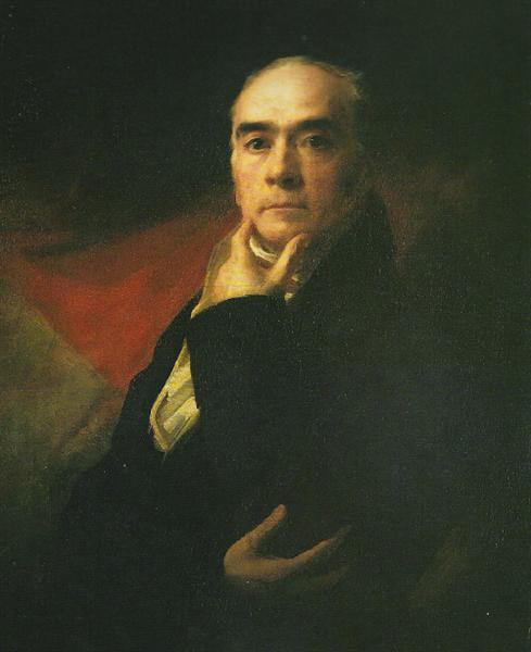 Self-Portrait, c.1820 - Генри Реборн