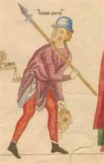 A bandit - Herrad of Landsberg