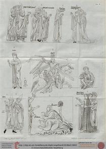 Hortus deliciarum - Herrad of Landsberg