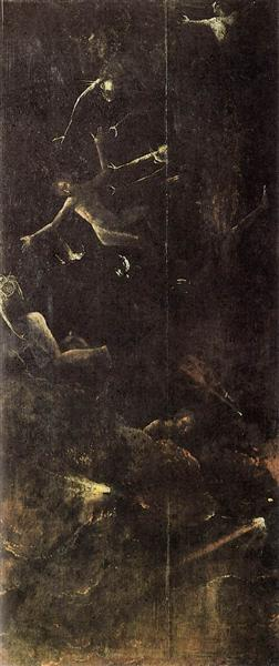 Fall of the Damned, 1500 - 1504 - Hieronymus Bosch