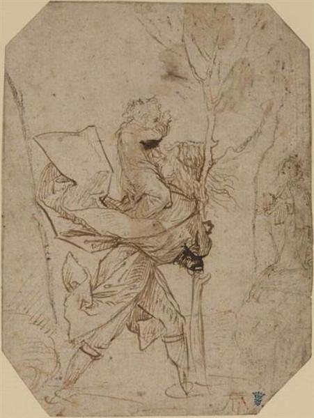 Saint Christopher - Hieronymus Bosch