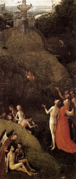 Terrestrial Paradise, c.1490 - Hieronymus Bosch