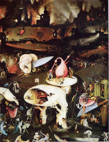 The Garden Of Earthly Delights Detail 1510 1515 Hieronymus Bosch