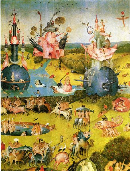 The Garden of Earthly Delights: Earth | Shagwatchs Blog