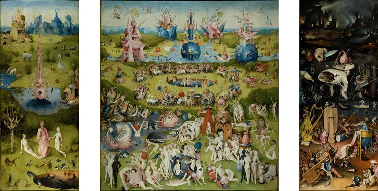 The Garden Of Earthly Delights 1510 1515 Hieronymus Bosch