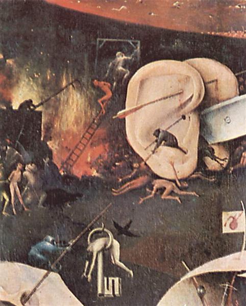 Сад земных наслаждений (деталь), 1510 - 1515 - Иероним Босх