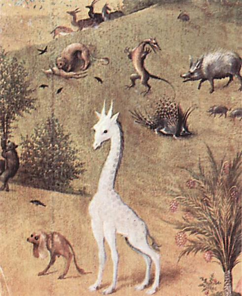 The Garden of Earthly Delights  (detail), 1460 - 1516 - Hieronymus Bosch