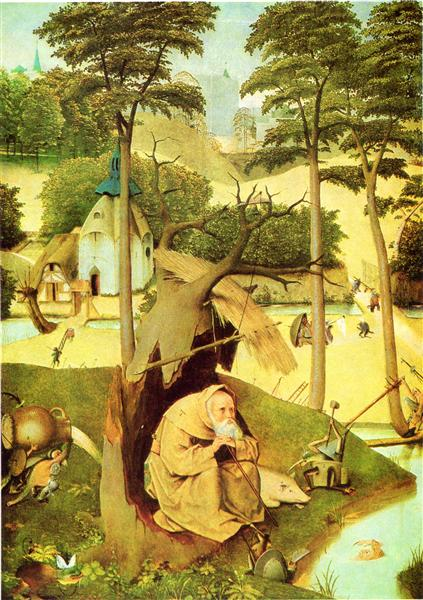 The Temptation of St Anthony (detail), 1510 - 1515 - Hieronymus Bosch