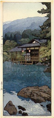 Garden in Summer, 1933 - Hiroshi Yoshida