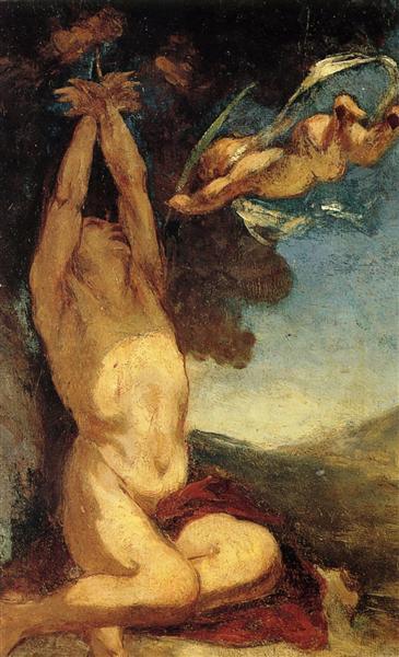 Мученичество Св. Себастьяна, 1849 - 1850 - Оноре Домье