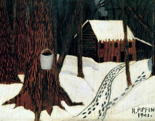 Maple Sugar Season, 1941 - Horace Pippin