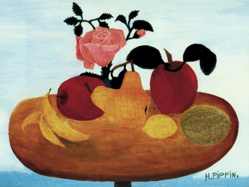 The Warped Table Still Life, 1940 - Horace Pippin
