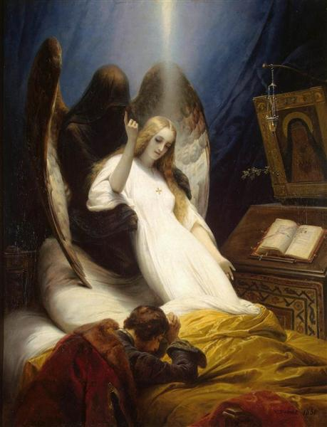 Angel of Death, 1851 - Horace Vernet