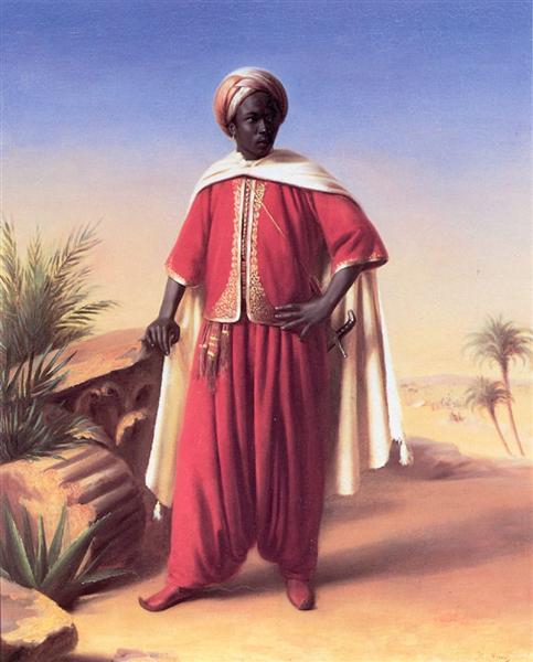 Portrait of an Arab - Horace Vernet
