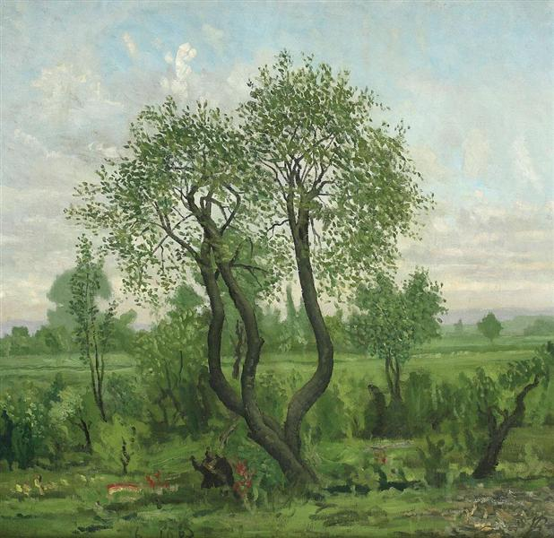 Landscape, 1983 - Horia Bernea