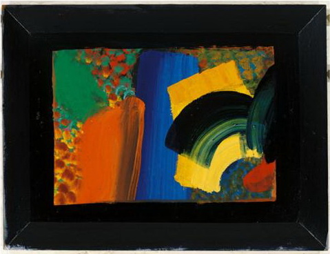 Patrick Caulfield in Italy, 1992 - Howard Hodgkin