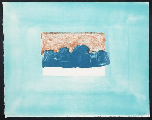 Untitled, 1976 - Howard Hodgkin