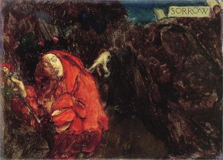 Sorrow - Howard Pyle